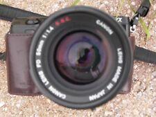 Canon FD 50mm F:1.4 S.S.C. f/  Sony Nikon Canon Pentax Fujifilm Leica Working