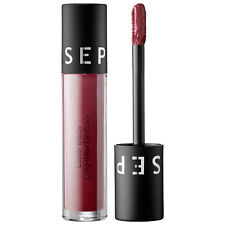 Sephora Luster Matte Liquid Lipstick~ Deep Plum~ Long Wear - New In Box