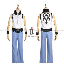 Kingdom Hearts 3D: Dream Drop Distance Riku Uniform Cos Clothes Cosplay Costume