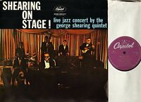 GEORGE SHEARING shearing on stage 5C038 85286 dutch capitol reissue LP PS EX/VG+