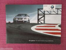 Coupe Manuals/Handbooks BMW Car Owner & Operator Manuals