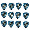 12 Pack PALM TREES Dark Blue Ocean Beach HAWAII MAUI Kona Guitar Picks