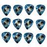 12 Pack PALM TREES Dark Blue Ocean Beach HAWAII MAUI Guitar Picks