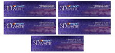Crest 3D White Radiant Mint Whitening Toothpaste, 4oz LOT OF 5