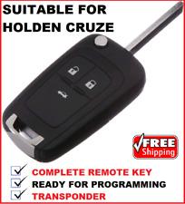 3B Remote Flip  Car Key suitable for Holden Cruze 2009 2010 2011 2012 2013 2014