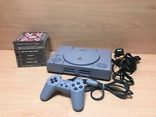 Sony PlayStation 1 PS1 Game Console SCPH-9002 - W/ Games, Leads, Controller -PAL