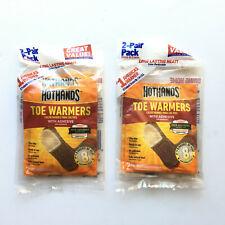 HotHands Warmers Toe Feet Foot 8 hours of Heat Winter Freezer 8 total NEW