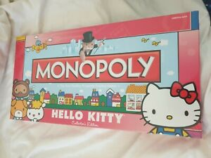 2010 Hasbro USAOPOLY Sanrio Hello Kitty Monopoly Collectors Edition [SEALED]