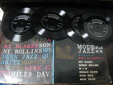 Modern Jazz Japan Vinyl Flexi w Book Miles Davis Sonny Rollins Horace Silver MJQ