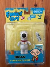 "Family Guy ""BRIAN"" 6-inch Scale Action Figure MEZCO Series 1"