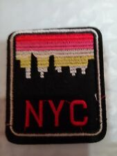 Vintage Iron On New York Nyc Patch Nyc 2.5""