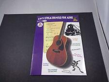 * Easy Folk Songs FoR Kids-W/ Cd -songbook -