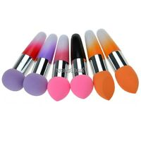 Lollipop Cosmetic Makeup Brushes Liquid Cream Foundation Concealer Sponge Brush