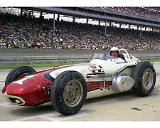 A J FOYT 1961 TREVIS OFFY INDY 500 WINNER AUTO RACING 8X10 PHOTO #2