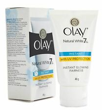 Olay Natural White Instant Glowing Fairness Cream Uv Protection  40gm