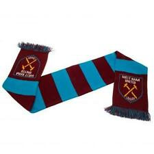Official Licensed Football Club West Ham United Bar Scarf Purple Blue Gift