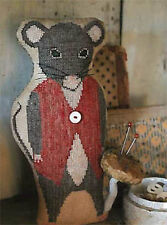 Monroe Mouse Animal Crackers Stacy Nash Primitives Cross Stitch Pattern