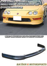 USDM Optional TR-Style Front Lip (Urethane) Fits 98-01 Acura Integra 4dr