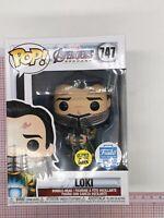 Funko Pop #747 Loki With Tesseract GITD Funko Shop Exclusive G02
