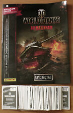 Album Panini WOT and Full complect 192 stickers WOT World of Tanks ТАНКИ