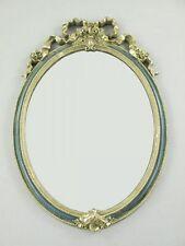 Wandspiegel Antik Stil gold Farbton Polystein Oval H.55x36cm