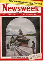 1948 Newsweek June 7 - Lee takes over Southern Baptists;VW;Palestine; Ben Hogan