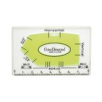 Diamond Card Level Acrylic Glass 6mm Thick Spirit Level Measuring Tool DT717155