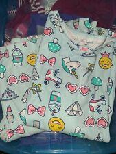 Carters girls pajamas size 14