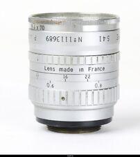 Lens Angenieux 1.4/25mm Type S41   No.1113689   C Mount