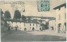 CARTOLINA d'Epoca NOVARA provincia : Gozzano 1914