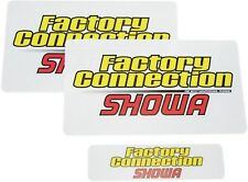 Factory Connection Fork/Shock Decal Set SHOWA FCSHOWADCLSET 4320-0461