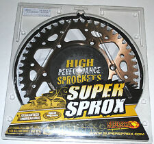 couronne ALU Super Sprox 49 dents Suzuki RM 125 250 RM-Z 250 450 RMX-Z DR-Z 400