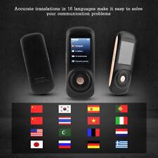 "2.4"" Pantalla Táctil WiFi HiFi Traductor de Voz Inteligente 37 Idiomas Subtitulo"