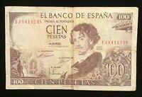 Banknote – Spain 100 Pesetas - 1965  VG