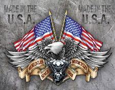 "Tin Sign  ""LEGENDS - World Class Motorcycles ""  Harley Garage METAL Wall Art"