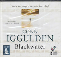 Conn Iggulden Blackwater 2CD Audio Book Unabridged Dark Thriller FASTPOST