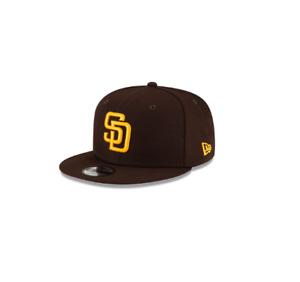 New Era San Diego Padres Kids Youth Hat Cap MLB Snapback Brown
