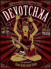 DEVOTCHKA Halloween 2010 Boulder, Colorado Glow in the Dark 18x24 Concert Poster