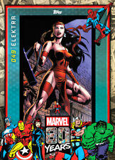 Topps Marvel Collect Elektra #49 80 Years Celebration [DIGITAL CARD] 800cc