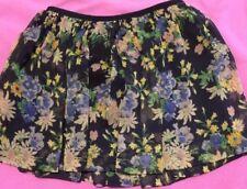 Ralph Lauren Girls Skirt Floral Size 8-10