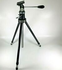 """Vintage Jupiter Metal 74"""" Tripod Schultz MFG - By the makers of Brilliant Screen"""