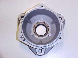 Ferrari 308 Engine ignition Distributor Housing Support Flange_GTB_GTS_GENUINE