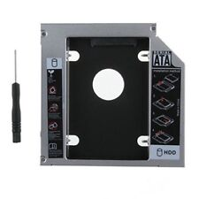 12.7MM 2nd SATA to SATA HDD SSD Hard Drive Bay Caddy for Laptops SONY HP DELL