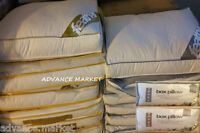 NEW GOOSE & DOWN / DUCK & DOWN EXTRA THICK BOX PILLOW - 85% FEATHER & 15% DOWN