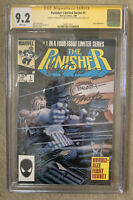 MARVEL Punisher Limited #1 (1986) Signed 3X Zeck Beatty Shooter CGC SS 9.2 WHITE