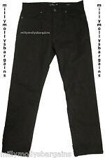 NUOVO Marks & Spencer Marrone Pantaloni Gamba Affusolata Girovita 30 L30 Label guasto