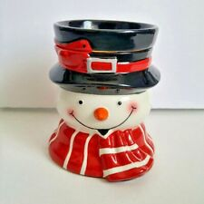 Snowman Wax Tart Warmer Electric Plug In Christmas Holiday Home Decor Candles