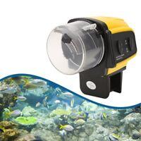 Automatisches Fisch Feeder Fisch Futterautomat Aquarium Digital Feeder Timer d0l