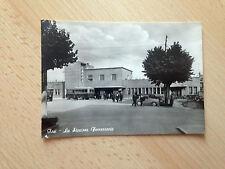 JESI La Stazione Ferroviaria 1961 - cartolina viaggiata
