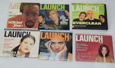 Lot of 6 Launch CD-ROM Music Magazine